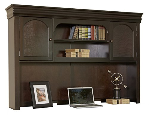 Martin Furniture Beaumont Hutch - Fully Assembled - Martin Furniture Oak Executive Desk