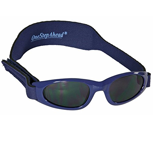 Blue Wrap Sunglasses for Baby Boys Birth - 24 Months by Sun Smarties