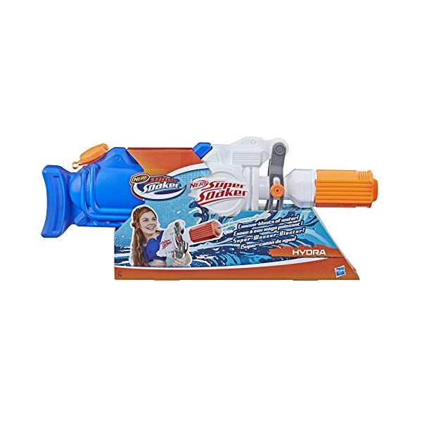 Nerf Super Soaker - Hydra (blaster spruzza acqua) 2 spesavip