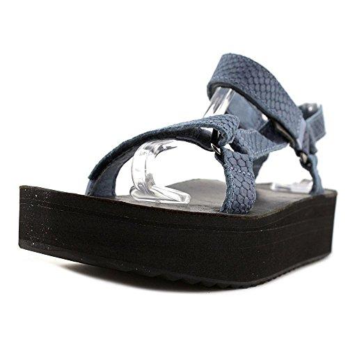 Teva Flatform Universal Everglade Women US 7 Blue Sport Sandal by Teva