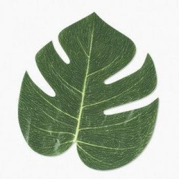 Artificial Tropical Leaves (6 dozen) - Bulk