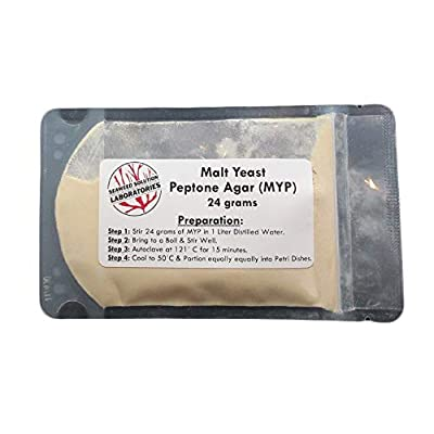Malt Yeast Peptone Agar MYP - 24 grams - Great For Growing Mushrooms: Toys & Games