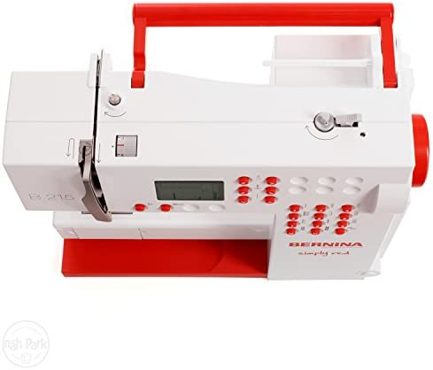 Bernina 215 Máquina de coser edición especial Simply Red: Amazon ...