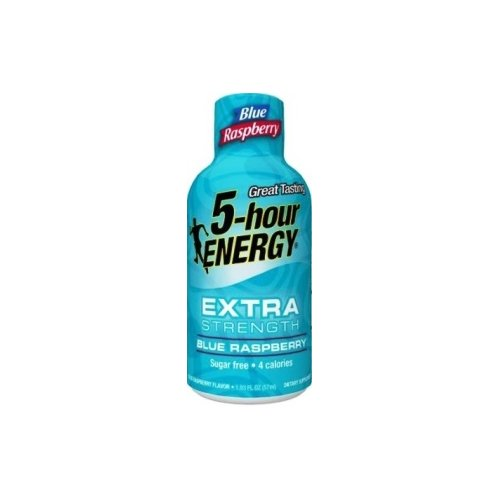 5 Hour Energy Extra Strength, Blue Raspberry, 24 Count