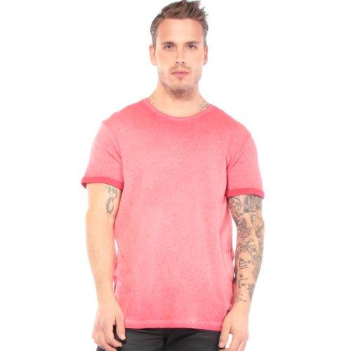 55 Dsl Turn-Up Basic T-shirts L Men