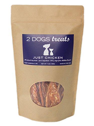 Just Chicken, Turkey, Beef Dog Jerky Treats (Chicken, Large)
