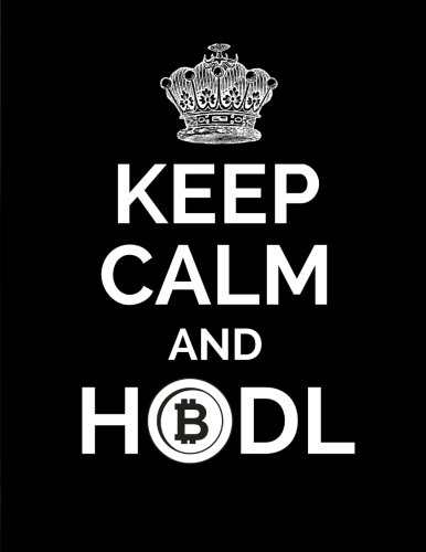Read Online Keep Calm and HODL: Bitcoin/Cryptocurrency Journal Notebook, 100 Pages (Large, 8.5 x 11 in.) (Bitcoin Notebooks) (Volume 11) pdf epub