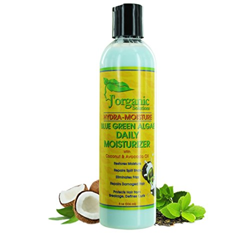 Pomade Web (J'Organic Solutions Blue-Green Algae Daily Moisturizer with Coconut & Avocado Oil)