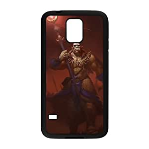 samsung_galaxy_s5 phone case Black Ner'zhul World of Warcraft WOW SSJ9950742
