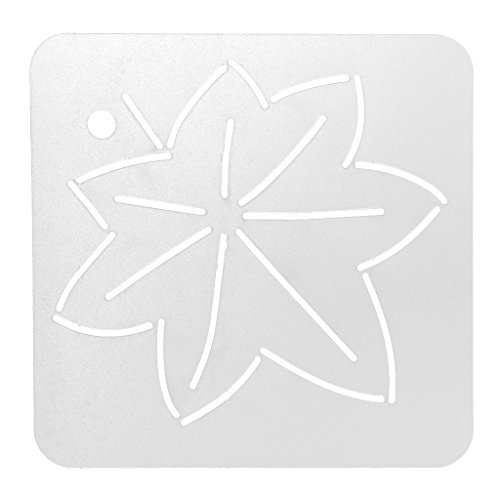 Jili Online New Quilting Stencils Plastic Embroidery Template Funny Handmade Sewing Craft 10#