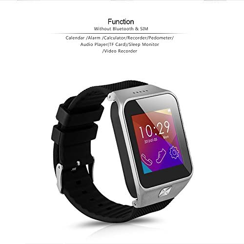 MEMTEQ® Smart Watch Bluetooth, Reloj Wireless Pulsera 1,56 ...