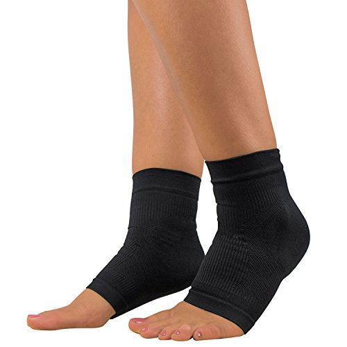 Plantar Fasciitis Sleeve - Arch Support, Heel Pain, Compression Sock Foot - Fiore Single