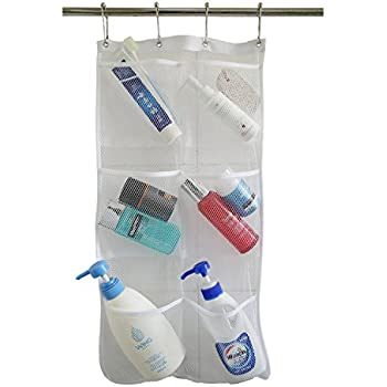 Amazon Com Honla Pack Hanging Mesh Bath Shower Caddy Organizer
