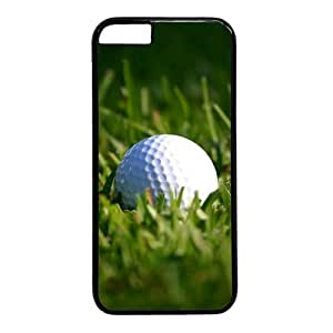 Golf Ball Theme Case for iphone 5c PC Material Black