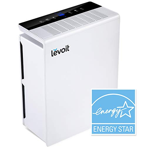 LEVOIT Air Purifier for Home Large Room with True HEPA Filter, Air Cleaner for Allergies and Pets, Smokers, Mold, Pollen, Dust, Quiet Odor Eliminators for Bedroom, Energy Star, Smart Sensor, LV-PUR131