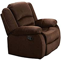 ACME Furniture Acme 51032 Bailey Rocker Recliner, Chocolate Velvet