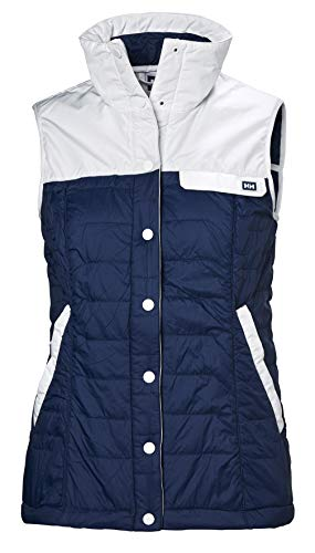 (Helly Hansen Women's Movatn Wool Insulated Vest, Catalina Blue, Small)
