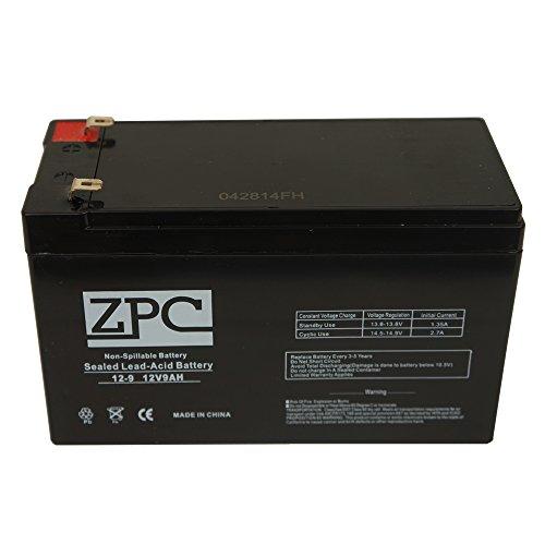 ZPC BATTERY RAZOR DIRT QUAD VERSION 1-8 ZPC 12V 9Ah