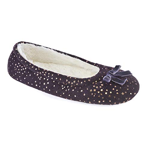 Style Chaussons Up It Femme Fille Foil Stars Purple rxCrd5nEw