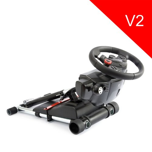 (ACHTUNG! Dieser Verkaufs ist für den Stand auf. Räder und Pedale nicht inbegriffen.)Wheel Stand Pro for Logitech Driving Force GT /PRO /EX /FX wheels - V2