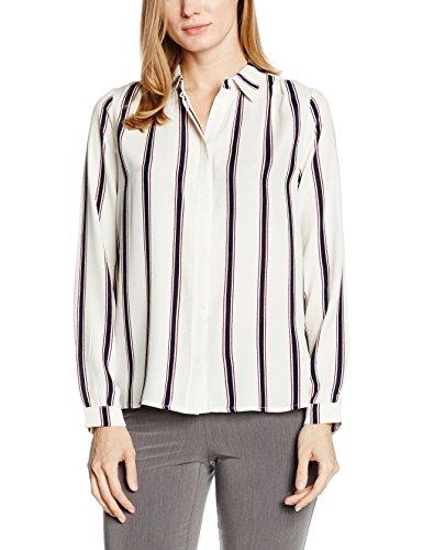 Blanco Para Camisa Saint Tropez Mujer qF7vwHx
