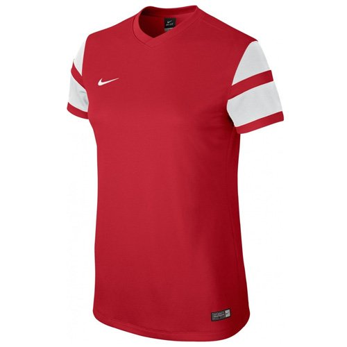Nike Ss W'S Trophy II Jersey - Camiseta para mujer rojo universitario / blanco