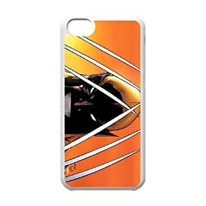 iPhone 5c Cell Phone Case White Wolverine 006 PQN6053055375764