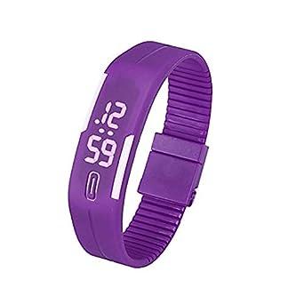 Reloj para Mujer Unisex de Digitaces LED para Hombre 38b0253f6114