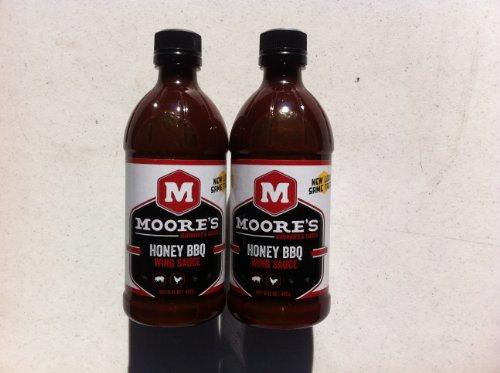 Moore's Honey BBQ Wing Sauce 16oz.