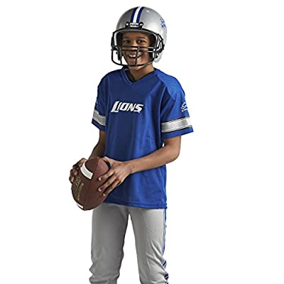 Franklin Sports NFL Detroit Lions Deluxe Youth Uniform Set, Small