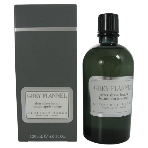 Grey Flannel By Geoffrey Beene For Men, Aftershave, Lotion, 4-Ounce Bottle