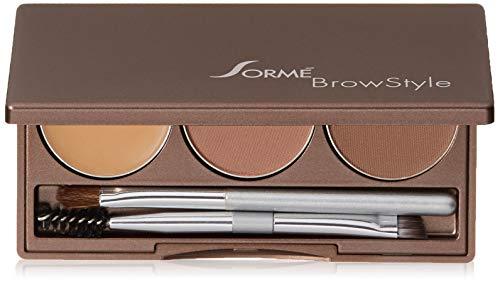 Sorme Cosmetics Brow Style, Deep Brown, 0.2 Ounce