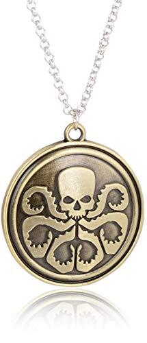 Accessorisingg :Agents of Shield Hydra Logo Pendant - Shield Logo Pendant