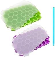 nevera Refrigerador Cube Maker 2 Unids Ice Cube Molde Contenedor ...