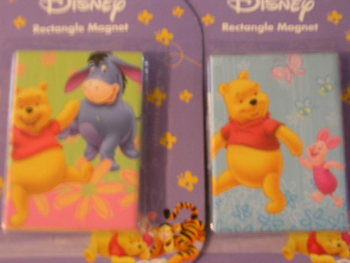 (Disney Winnie the Pooh Rectangle Magnet)