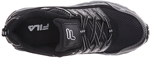 Fila A Peake Trail zapatillas de running Black-Blk-Mslvr