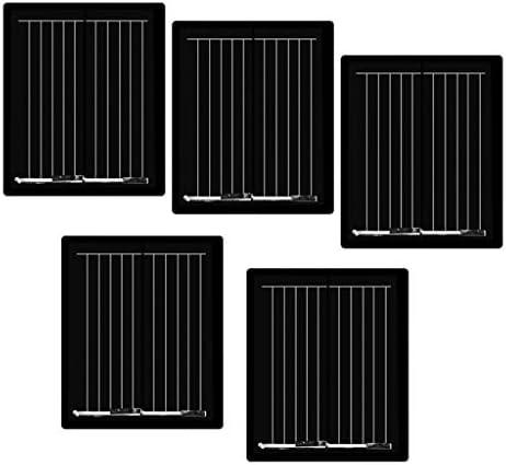 F Fityle 5 Stücke Mini Solar Panel Solarpanel Sonnenkollektor Solarladegerät Solarzelle DIY
