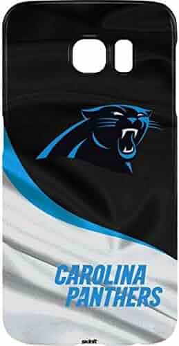283f71abfbef81 Skinit NFL Carolina Panthers Galaxy S7 Edge Lite Case - Carolina Panthers  Design - Ultra-