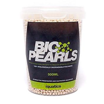 iQuatics Bio Pearls – 500 ML – Reduce nitrato y fosfato y Ayuda a Combatir Las Algas nutritivas