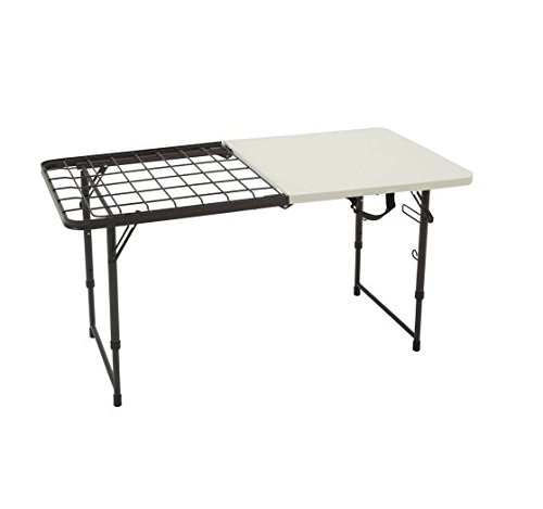Lifetime 4' Fold-In-Half Cooking Table by Lifetime Products B01CZ1FYLG