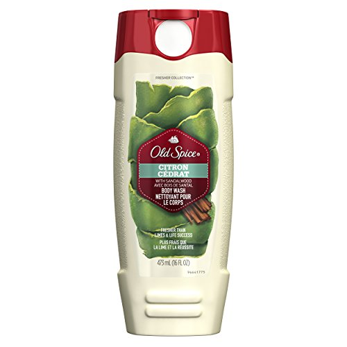 Old Spice Fresher Collection Men's Body Wash, Citron Scent, 16.0 Fluid ()