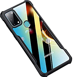 Amozo Back Case Cover for Samsung Galaxy M31 and M31 Prime / F41 (PC|Transparent)