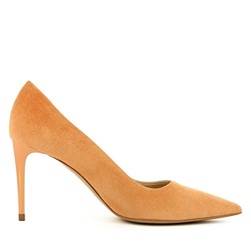 Evita Shoes Jessica Escarpins Femme Daim Orange tZBgL