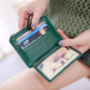 Gray Womens Bags Coin Purse /& Card Holder Women Pu Leather Mini Wallet Portable 6 Card Slot Purse