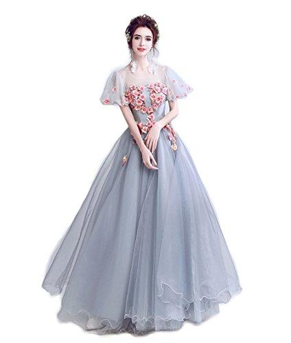 ロングドレス演奏会 イブニングドレス結婚式 パーティードレス 二次会ドレス 披露宴 成人式 ワンピース  フォーマルドレス 花びら