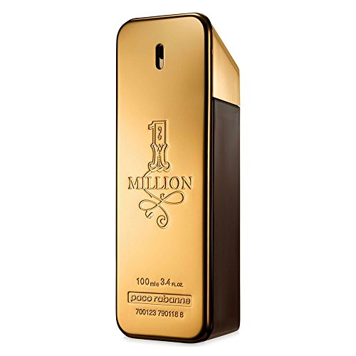 1 Million FOR MEN by Paco Rabanne - 3.4 oz EDT - Amber Nude White
