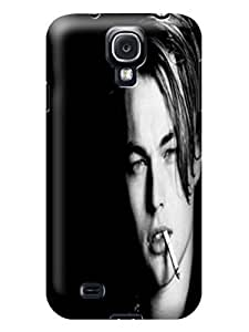 2014 Cool Leonardo Dicaprio fashionable pictures Print Design for Samsung Galaxy s4 TPU phone Case Durable Hard