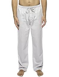Twin Boat Men's 100% Woven Cotton Lounge Pants