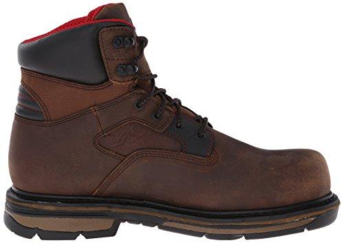 Boot Inch Composite 6 Work Rocky Toe Brown Hauler Men's q0zgAwExZ