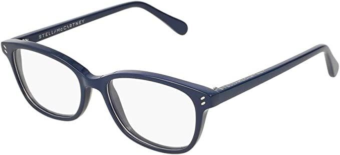 Stella McCartney SC0078OI Eyeglasses 004 Blue 50mm